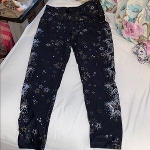 NWT Victoria's Secret sport leggings m stars